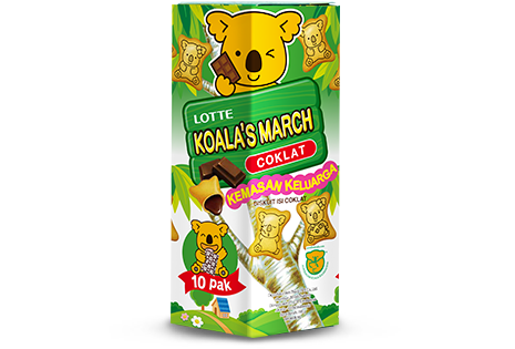 Koala's March Cokelat Family Pack