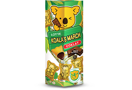 Koala's March Coklat Regular Pack