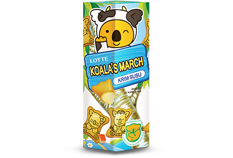 Koala's March Krim Susu Regular Pack