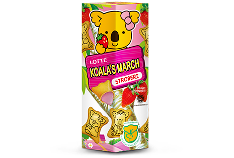 Koala's March Stroberi Regular Pak